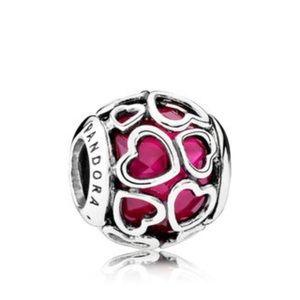 Jewelry - Pandora Love is All Around Charm, 791250czs